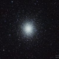 Omega Centauri globular star cluster by Richard Wright.